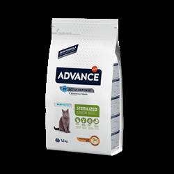Advance - Сухой корм для стерилизованных кошек до 2 лет Young Sterilized - фото 21035