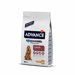 Advance - Сухой корм для пожилых собак (с курицей и рисом) Medium Senior - фото 21042
