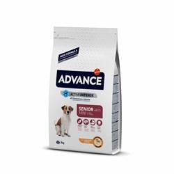 Advance - Сухой корм для пожилых собак малых пород (с курицей и рисом) Mini Senior - фото 21051
