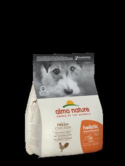 Almo Nature - Сухой корм для взрослых собак малых пород (с курицей) Small & Chicken Holistic - фото 21069