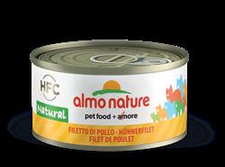 Almo Nature - Консервы для кошек (куриное филе, 75% мяса) Legend Adult Cat Chicken Fillet - фото 21148