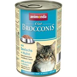 Animonda - Консервы для взрослых кошек (с сайдой и курицей) BROCCONIS CAT - фото 21397
