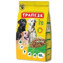 Трапеза - Сухой корм для собак (с индейкой, кроликом и телятиной) TRIO - фото 21424