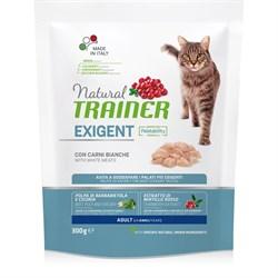 Trainer - Сухой корм для привередливых кошек (со свежим белым мясом) Trainer Natural Exigent Cat with fresh White Meats - фото 21430