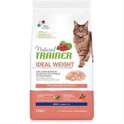 Trainer - Сухой корм для кошек с избыточным весом (с белым мясом) Natural Cat Ideal Weight Adult - фото 21444