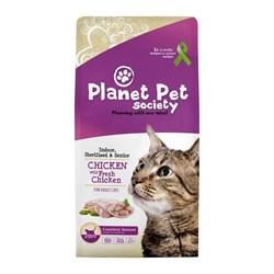 Planet Pet - Сухой корм для домашних и стерилизованных кошек (с курицей) Indoor & Sterilized Chicken - фото 21616