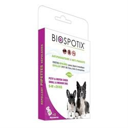 Biospotix - Капли от блох для собак мелких и средних пород (5 пипеток по 1 мл) Dog Spot on - фото 21629