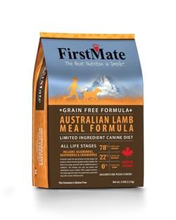 FirstMate - Сухой беззерновой корм для щенков и собак всех пород (с ягненком) Australian Lamb - фото 22188