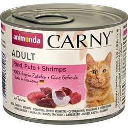 Animonda - Консервы для кошек (с говядиной, индейкой и креветками) CARNY Adult - фото 22231