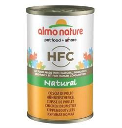 """Almo Nature - Консервы для кошек """"Аппетитные Куриные бедрышки"""" Classic Adult Cat Chicken Drumstick - фото 22336"""