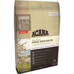 Acana Singles - Сухой беззерновой корм для взрослых собак всех пород (утка с грушей) Free-Run Duck - фото 22428