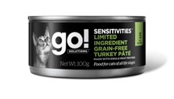 GO! Natural Holistic - Консервы беззерновые для кошек с чувствительным пищеварением (с индейкой) Limited Ingredient Grain-Free Turkey Pâté for cats - фото 22773