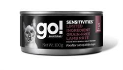 GO! Natural Holistic - Консервы беззерновые для кошек с чувствительным пищеварением (с ягненком) Sensitivities Limited Ingredient Grain Free Lamb Pate CF - фото 22781