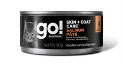 GO! Natural Holistic - Консервы беззерновые для кошек (с лососем) Skin + Coat Care Salmon Pate CF - фото 22784