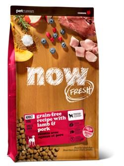 NOW Natural Holistic - Сухой корм беззерновой для взрослых собак (со свежим мясом ягненка) Grain Free Red Meat Adult Recipe - фото 23813
