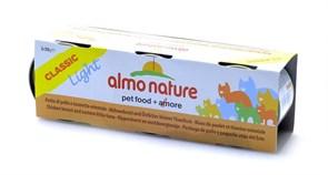 Almo Nature - Набор 3 шт. Консервы для кошек (Куриная Грудка и Пятнистый Индо-Тихоокеанский Тунец) Classic Light Cat Chicken Breast & Eastern Little Tuna