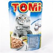 Tomi - Паучи для кошек (лосось с форелью)