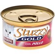 Stuzzy - Консервы для кошек (кусочки курицы) GOLD