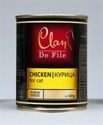 Clan De File - Консервы для кошек (курица) № 83