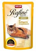 Animonda - Паучи для взрослых кошек (с домашней птицей в сливочном соусе) Rafine Soupe Adult