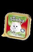 Simba Cat - Консервы для кошек (паштет из мяса)