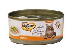 Мнямс - Консервы для кошек (курица нежном в желе)