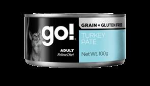 GO! Natural Holistic - Консервы беззерновые для кошек (с индейкой) Grain Free Turkey Pate