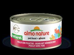 Almo Nature - Консервы для кошек (с Курицей и Печенью) Legend Adult Cat Chicken and Liver