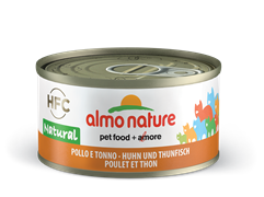 Almo Nature - Консервы для кошек, 75% мяса (с Курицей и Тунцом) Legend Adult Cat Chicken and Tuna