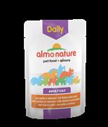 "Almo Nature - Паучи для кошек ""Меню с Курицей и Лососем"" Daily Menu Cat Chicken and Salmon"