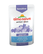 Almo Nature - Паучи для кошек для улучшения работы кишечника (с рыбой) Functional Sensitive with Fish