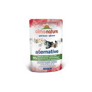 "Almo Nature Alternative - Паучи для кошек ""Тихоокеанский тунец"", 91% мяса Alternative Pacific Tuna"