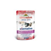 "Almo Nature Alternative - Паучи для кошек ""Тунец Индийского океана"", 91% мяса Alternative Indian Ocean Tuna"