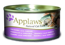 Applaws - Консервы для кошек (со Скумбрией и Сардинками) Mackerel and Sardines