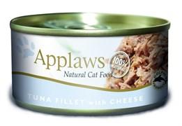 Applaws - Консервы для кошек (филе тунца и сыром) Cat Tuna Fillet and Cheese