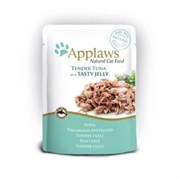 "Applaws - Паучи для кошек ""Кусочки тунца в желе"" Cat Pouch Tuna Whole Meat in Jelly"