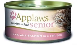 """Applaws - Консервы для пожилых кошек """"Кусочки в желе"""" (с тунцом и лососем) Senior Cat Tuna with Salmon in Jelly"""