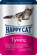 Happy Cat - Паучи для кошек (с тунцом)