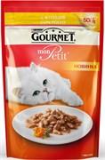Purina Gourmet - Влажный корм для кошек (с курицей) Mon Petit