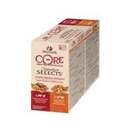 """Wellness Core - Консервы для кошек """"Ассорти"""" (аппетитные кусочки куриного филе в соусе) 8 шт*79 г Signature Selects"""
