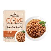 Wellness Core - Паучи для кошек (нежные кусочки индейки и утки в пикантном соусе) Tender Cuts