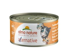 "Almo Nature Alternative - Консервы для кошек ""Индейка гриль"" HFC CATS TURKEY GRILLED"