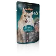 Leonardo - Паучи для взрослых кошек (с рыбой и креветками) Finest Selection Fish & Shrimp
