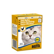 BOZITA - Консервы для кошек (кусочки в желе с курицей) Tetra Pak Feline Minced Chicken