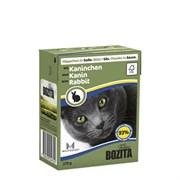 BOZITA - Консервы для кошек (кусочки в соусе с кроликом) Feline Rabbit Tetra Pak