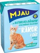 Mjau - Консервы для кошек (кусочки в соусе с креветками) Tetra Recart