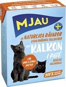 Mjau - Паштет для кошек (с индейкой) Tetra Recart
