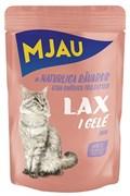 """Mjau - Паучи для кошек """"Лосось в желе"""""""