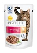 Perfect Fit - Паучи для кошек (с курицей)