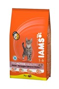 Iams - Сухой корм для взрослых кошек (с лососем) ProActive Health Adult with Salmon